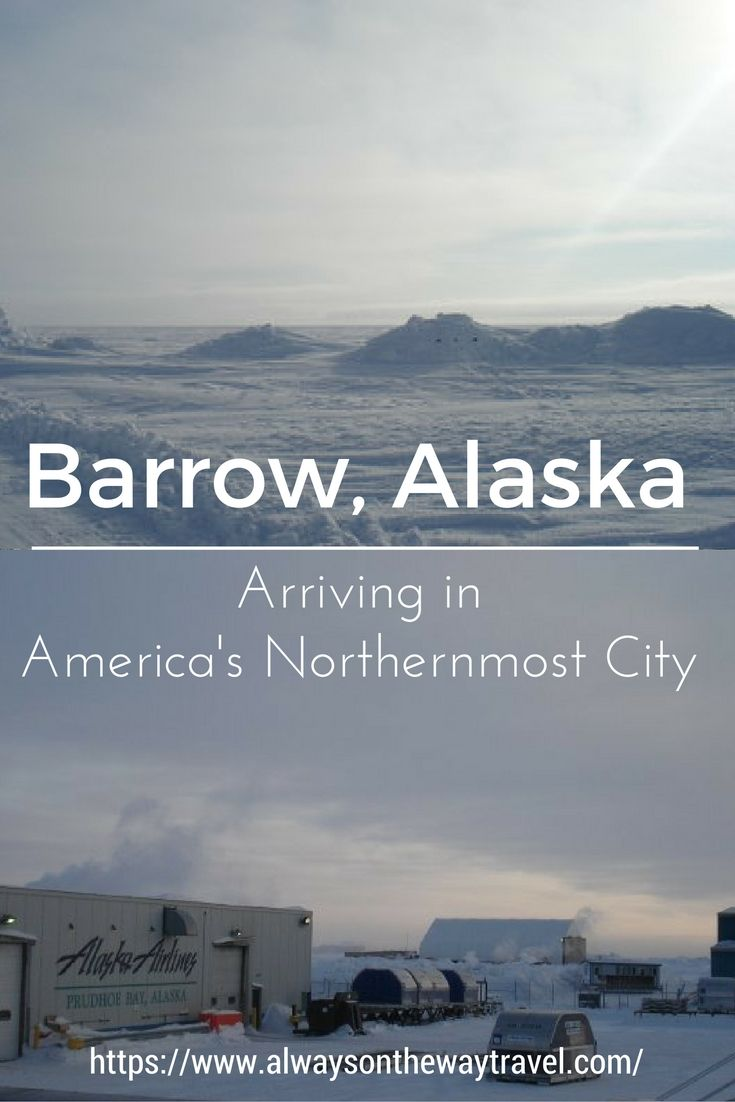 I traveled to Barrow Alaska, the northernmost city in North America, in the late winter to see what Arctic circle really looks like.