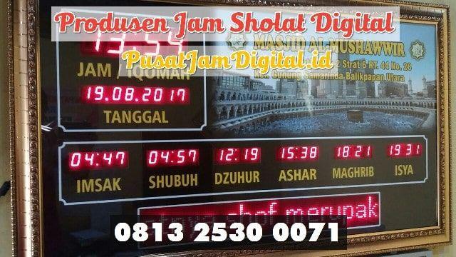 Jam Dinding Digital Di Ogan Komering Ulu Selatan Wa 0813 2530 0071