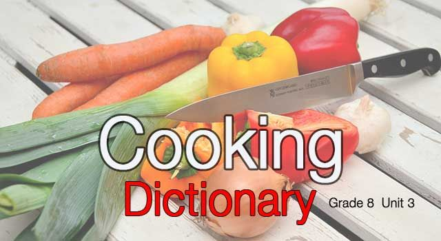 1. TEOG sınavının son ünitesi olan Cooking ünitesinde ders kitabı, çalışma kitabı ve dinleme metinlerinde geçen tüm kelimelerin olduğu sözlük çalışmamı bu bağlantıdan indirebilirsiniz.