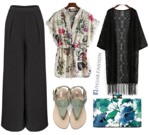 Floral Touches - Outfit Idea