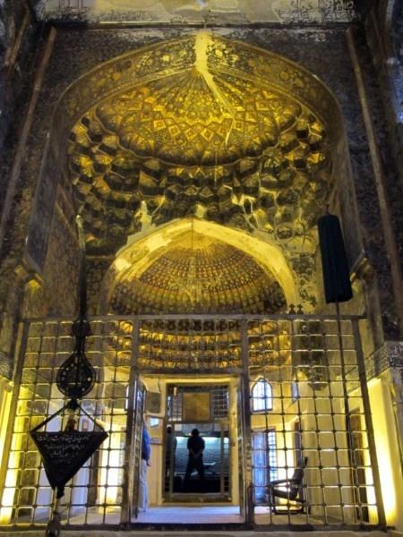 Mausoleum for Sheikh Safi-od-Din, a renowned Sufi mystic, in Ardebil.
