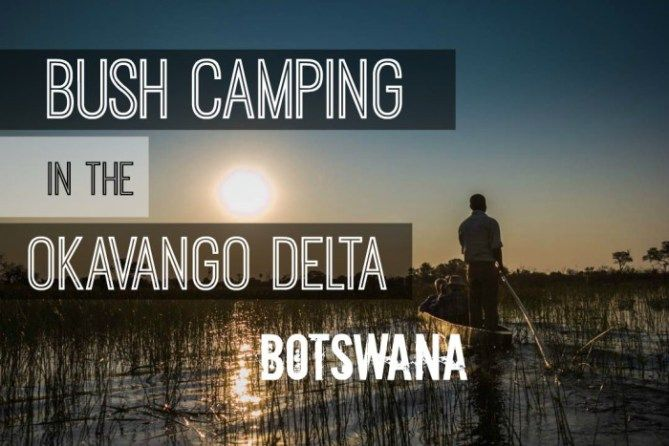 Bush Camping in the Okavango Delta in Botswana Africa. Check out the full post at http://www.divergenttravelers.com/bush-camping-okavango-delta-botswana/