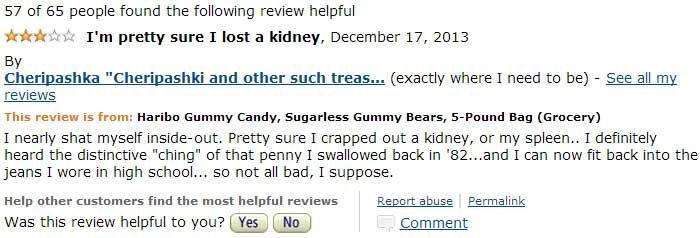 Sugar free gummy bears problem !!