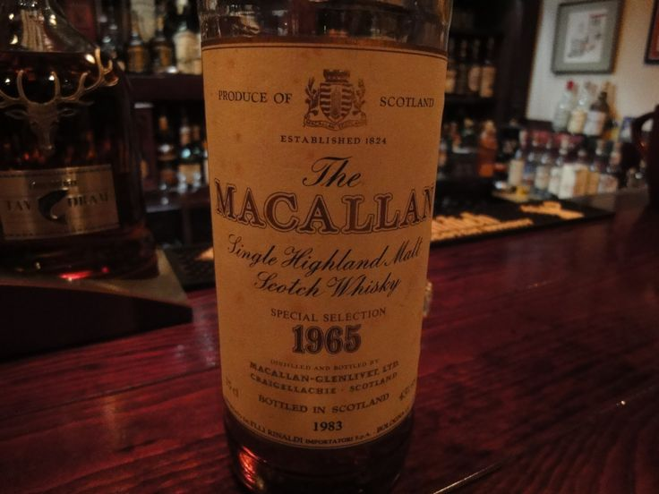The macallan 1965