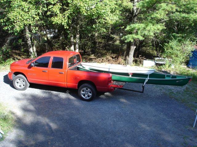 Hitch Mount Canoe Rack For Trucks Canoe Ctv Canoe
