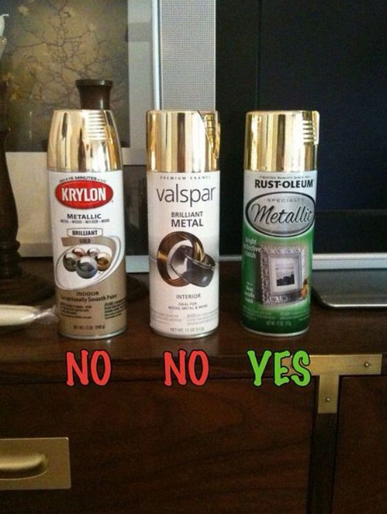 Gold Spray Paint Diy Pinterest