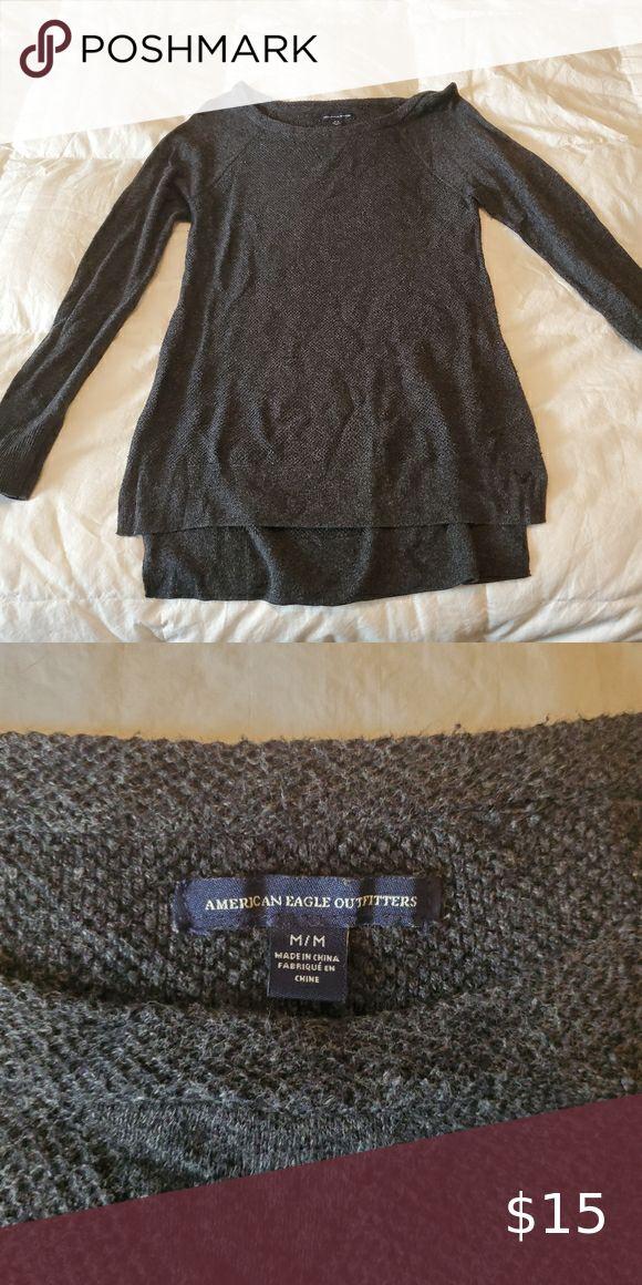 Acrylic Hi-Lo Sweater   Sweaters, Clothes design, Fashion