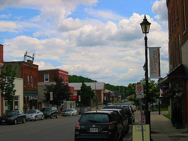 Downtown Campbellford Ontario, Canada by brendajoyca, via Flickr