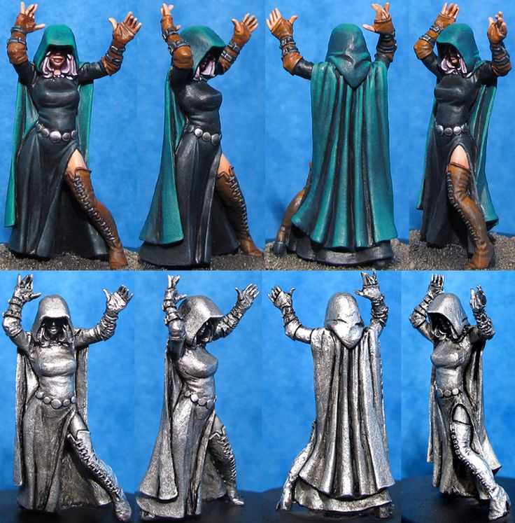 Hasslefree Miniatures - Shop - Fantasy & Steampunk - Fantasy Humans - Dynamic Lenore (HFH110)