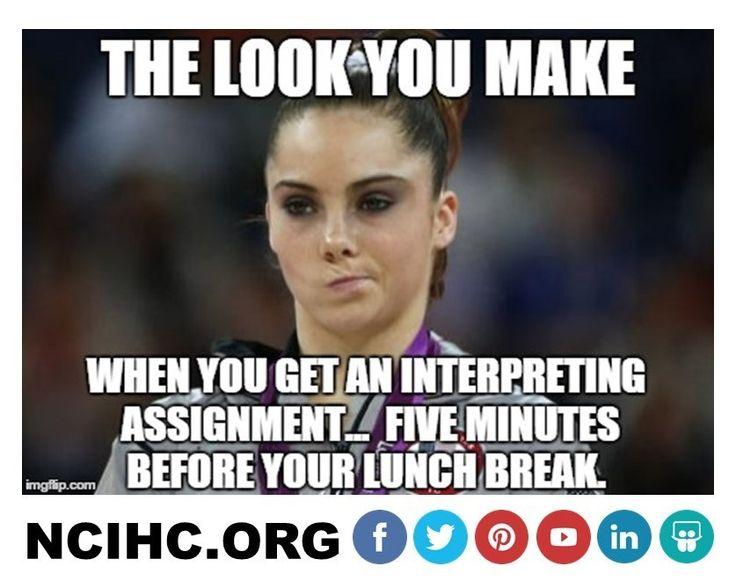 Life as an #interpreter! #1nt RT if you've had this feeling before!!