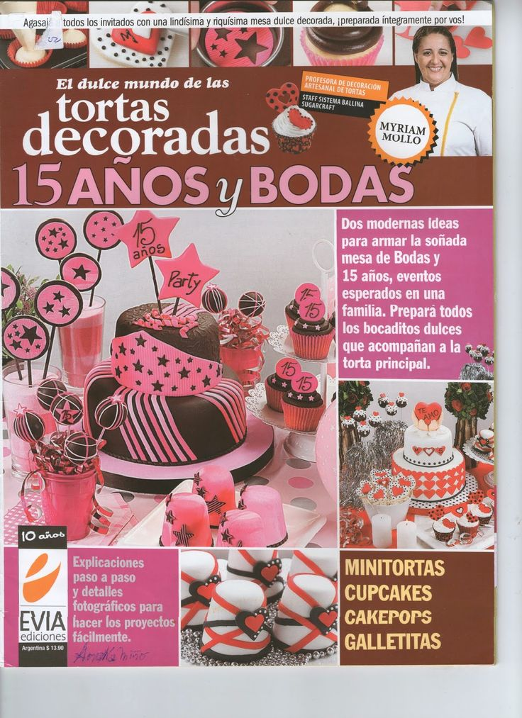 ideas para decorar tartas 15 años