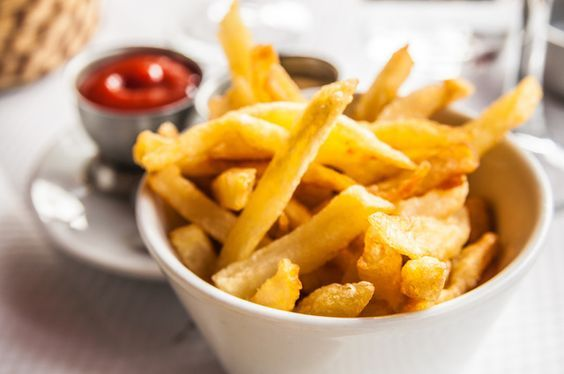 crunchy French fries made in an AIR-FRYER.