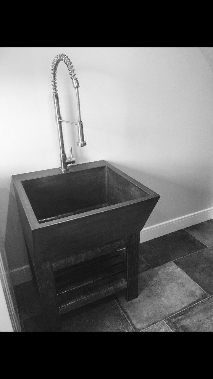 Large Utility Sink With Extension And Stand Utility Sink