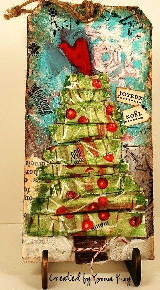 Christmas tree tag | Flickr - Photo Sharing!