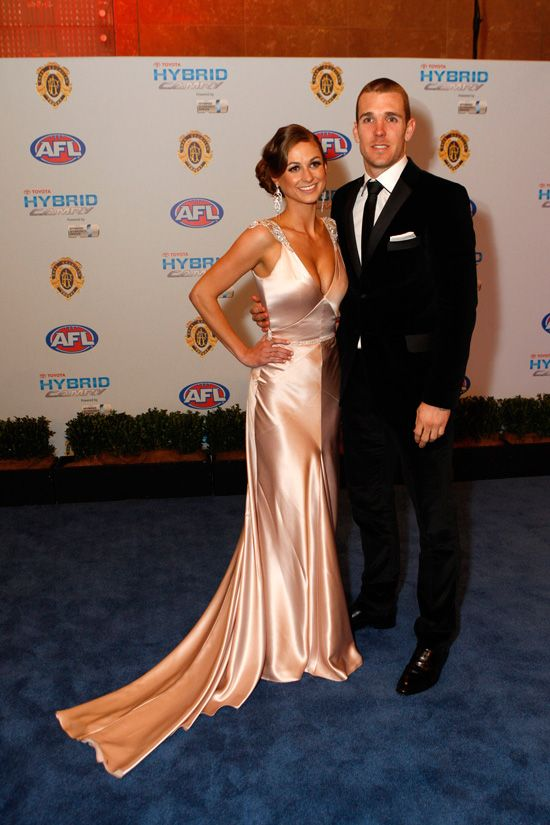 Taylor Wilson & Dane Swan (Collingwood)' - Brownlow Medal 2010