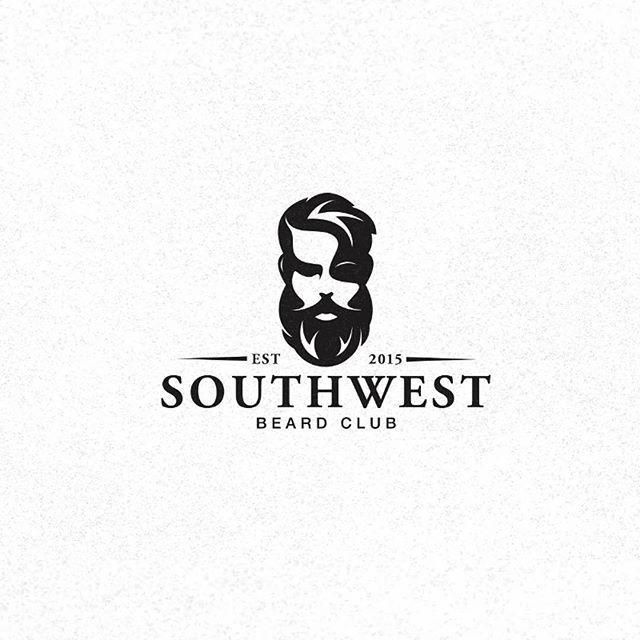 Logo Inspiration Beard Club By Myles Stockdale