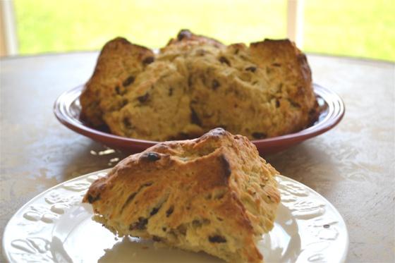 Traditional Irish Soda Bread with raisins and caraway. SOO delicious ...