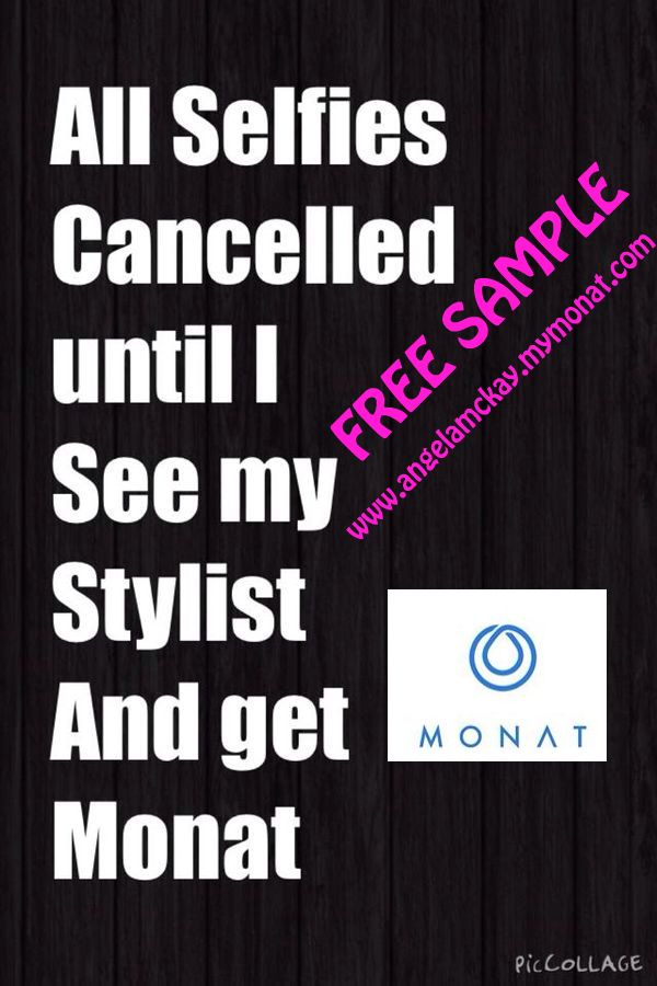 MONAT try it today 30 days live it or return it! It's amazing