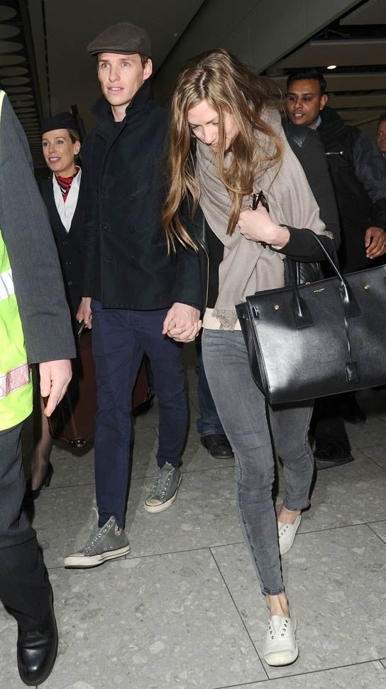 Eddie Redmayne and wife Hannah Bagshawe back in London after Oscars Lainey Gossip Entertainment Update
