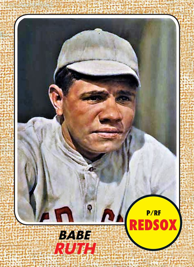 Pin by Terri Gaston Tim Terrell on Babe Ruth cards