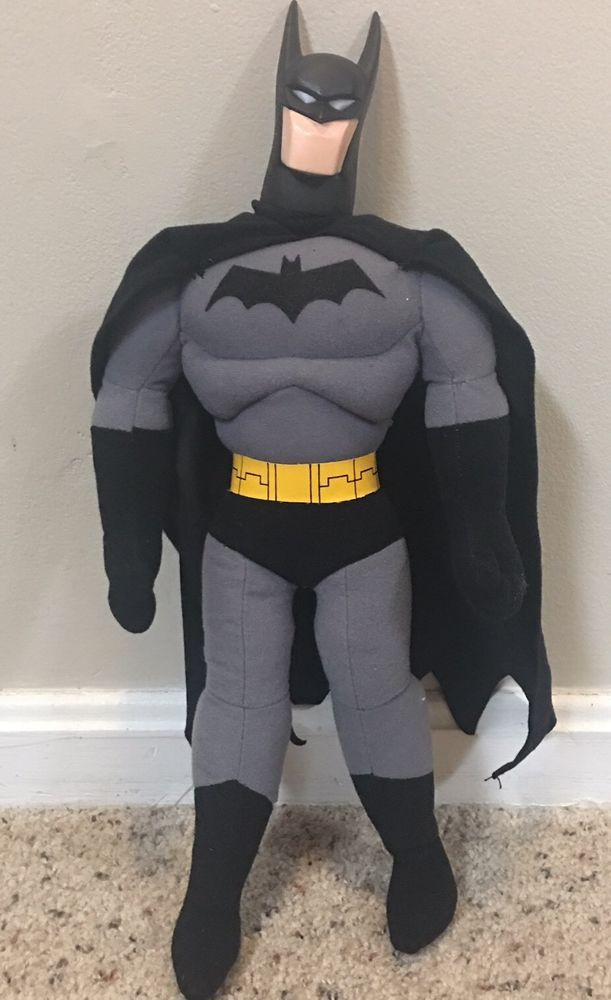 Batman D C Comics Plush 18 Quot Vinyl Head Stuffed Animal