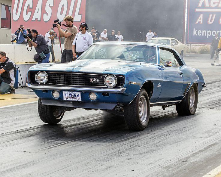 67 69 Z 28 Blue Camaro 5 7 350 Motor Or Larger 400hp To