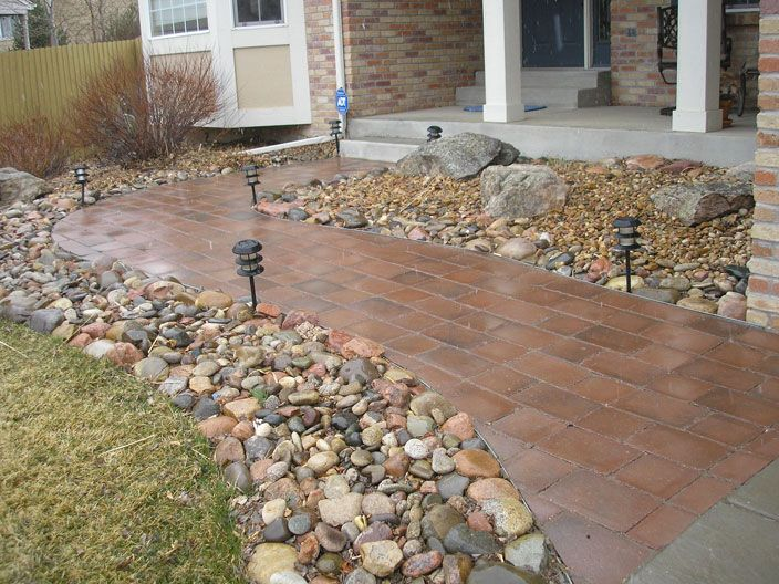 Xeriscaped Entrance Walkway Gardening Amp Landscaping I