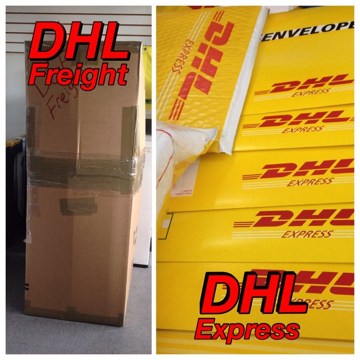 Send your packages all over the world with DHL! ~~ Express and Freight Services