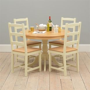 Wiltshire Painted Round Table and 4 Chairs