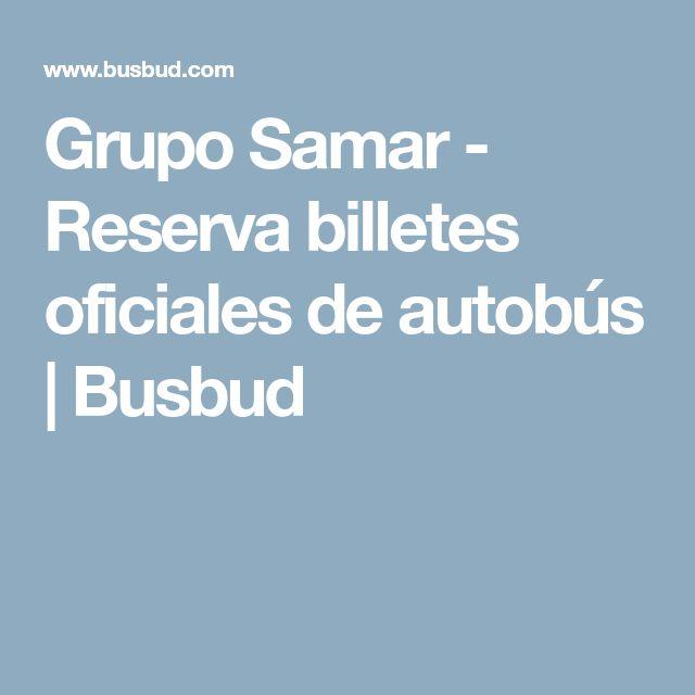 Grupo Samar - Reserva billetes oficiales de autobús   Busbud