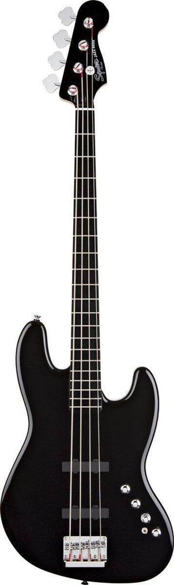 Squier Deluxe Jazz Bass IV Active Bass Guitar