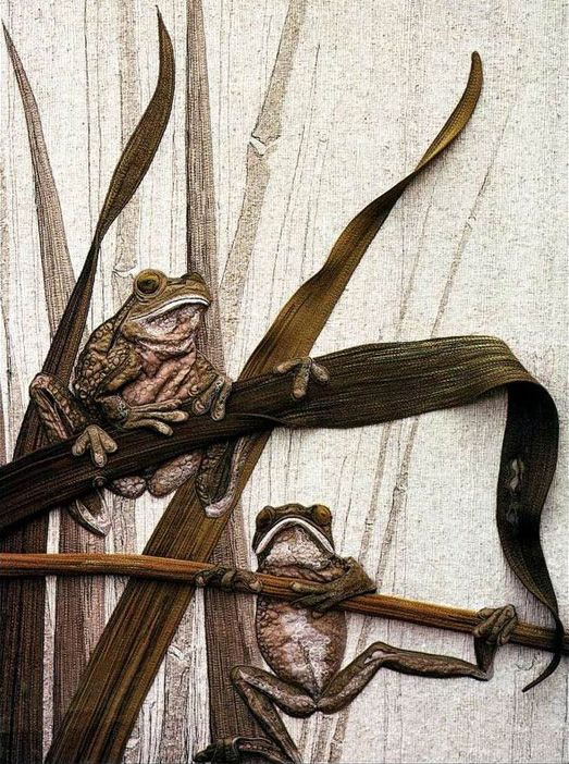 Textile sculpture Australian artist Annemieke Maine - Fair Masters - handmade,