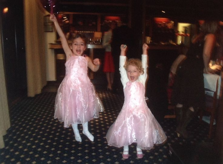 Me and my cousin Rebecca when we were little!