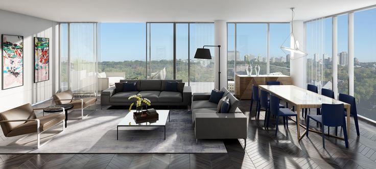 Estate Views - a harmonious blend of nature & city views www.theperry.com