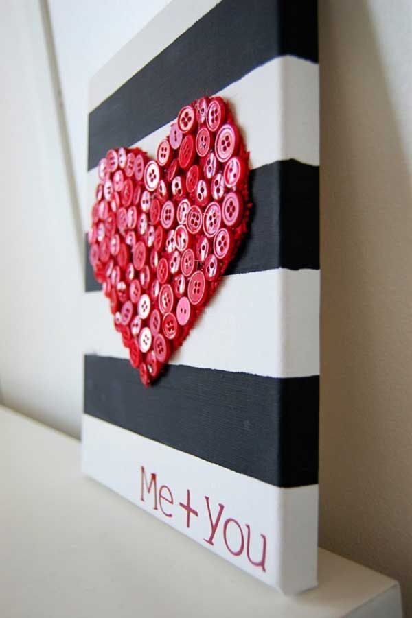 26 Cute Heart Shaped DIY Crafts For Valentines Day