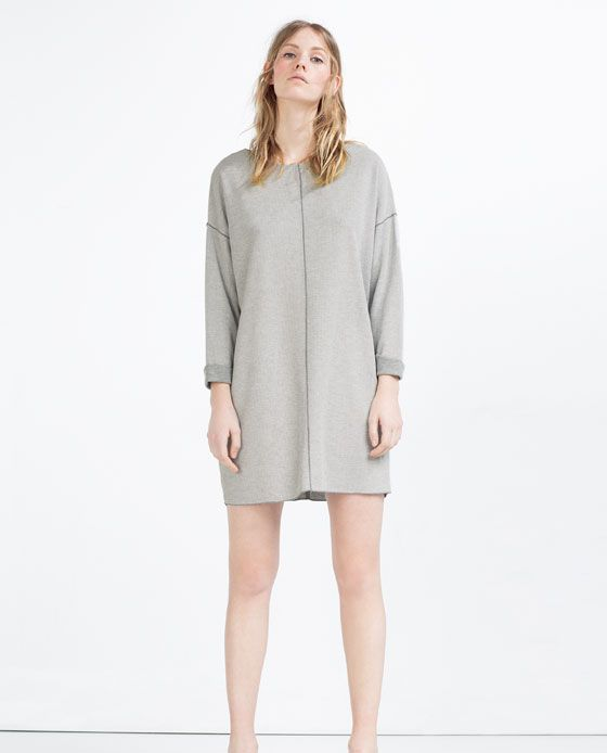 Image 1 of STRAIGHT DRESS from Zara