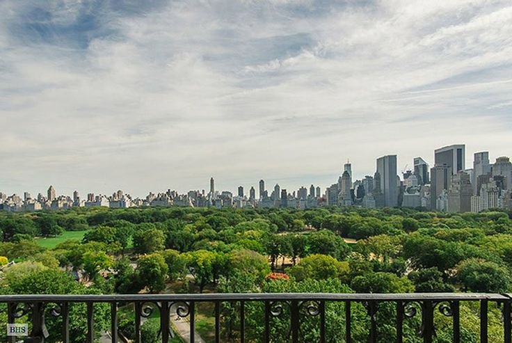 50 Central Park West New York Penthouse For Sale Two Adjacent Apartments Were