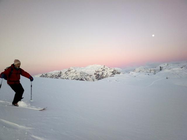Lessinia - Ski alpinismo sul monte Tomba