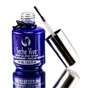 Seche Vite - Instant Gel Effect Top Coat Available at Beautometry.com