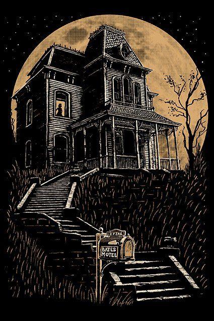 Camiseta Camiseta Bates Motel