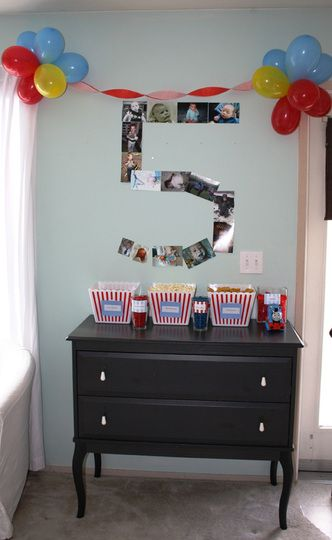 I have a boy turning 5 in a couple weeks... love the numbers from pictures!