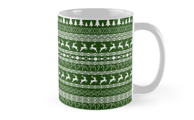 """Christmas pattern"" Mugs by Stock Image Folio 