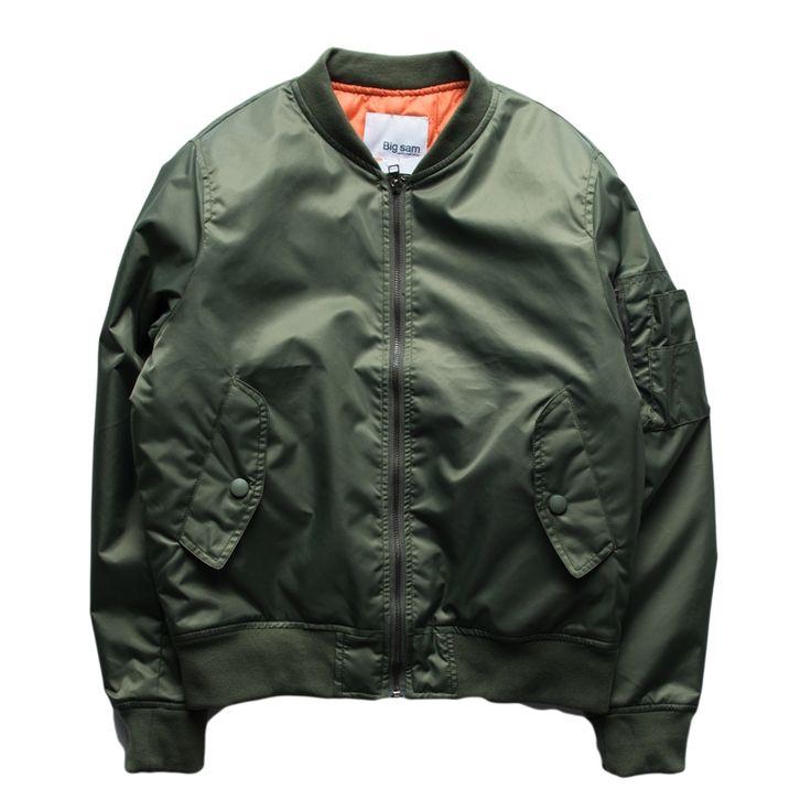 40.79$  Buy here - Fashion Bomber Jacket Men Solid Color Long Sleeve Autumn Veste Homme Brand Hip Hop Windbreak Casual Slim Motorcycle Men Jacket   #buyininternet