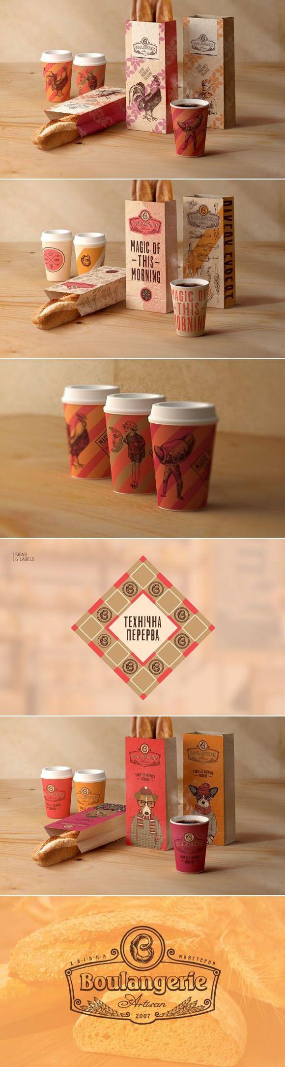 Identidades Visuais de Café quentinhas e fresquinhas