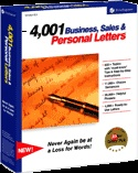 4,001 Business, Sales & Personal Letters. Comes in handy