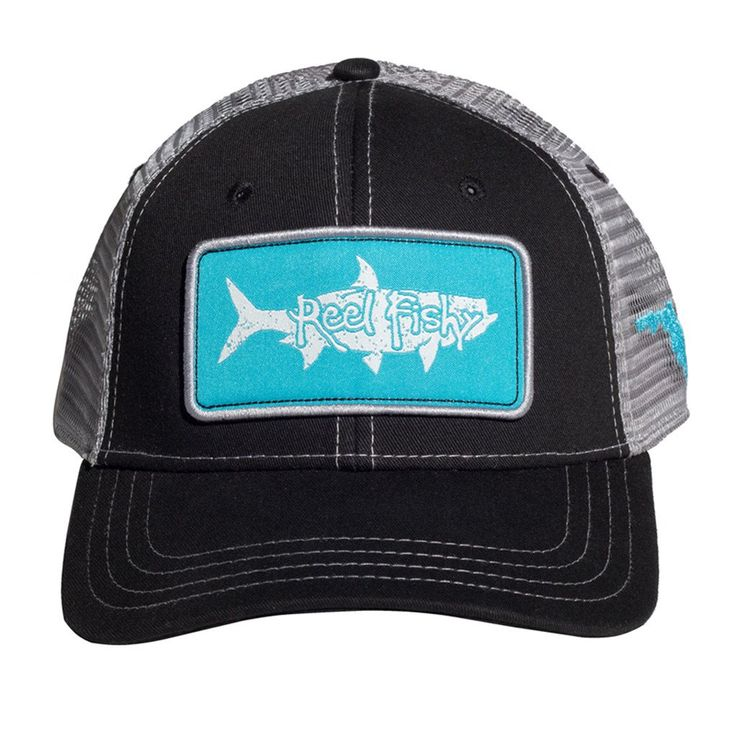 61 best tarpon fishing reel fishy logo hats images on for Fly fishing hat