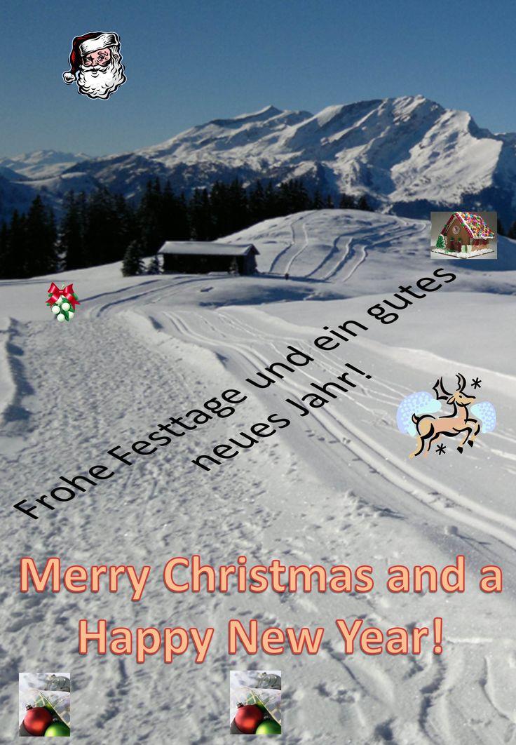 Frohe Festtage, Joyeux Noël, Buon Natale, Bellas festas da Nadal! Merry Christmas and a Happy New Year!