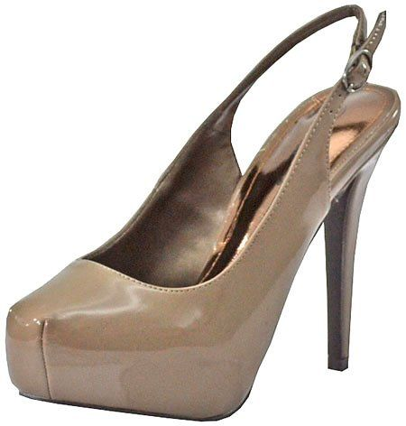 Breckelles Vanesa-12 Taupe Women Platform Pumps   Sell Cheap Shoes