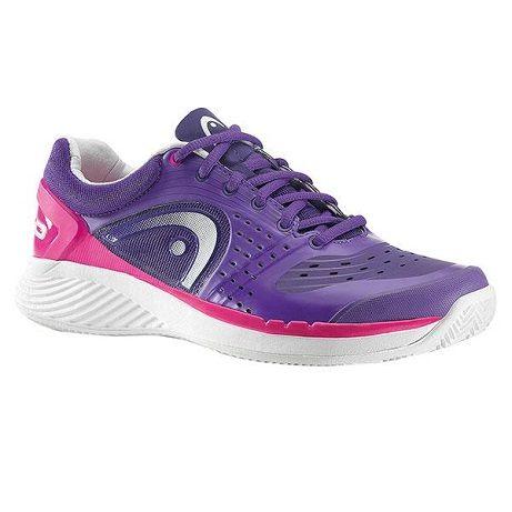 Las Head Sprint Pro Clay Violet Woman son una nueva categoría de zapatillas que nos permitirán deslizarnos por la pista con enorme ligereza y comodidad. Nos aportaran toda la seguridad necesaria para poder jugar sin preocuparnos de incomodidades en los pies.