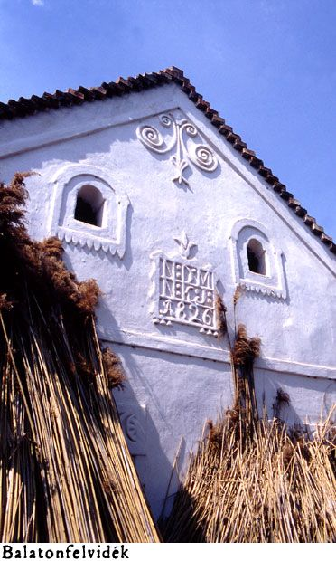 Facade of farmhouse - Balatonfelvidék - Hungary / Parastház homlokzat…